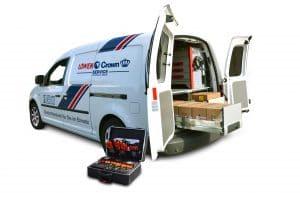LÖWEN ENTERTAINMENT- Servicecaddy mit Koffer – NEO Mobile Suite sorgt für effiziente Abläufe