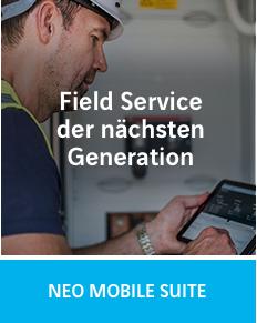 Field Service der nächsten Generation mit der NEO MOBILE SUITE