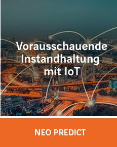 Predictive Maintenance, Vorausschauende Instandhaltung mit IoT und NEO Predict