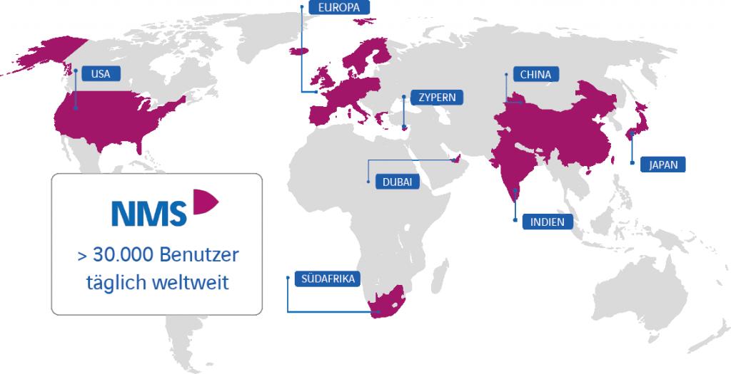 NEO Mobile Suite Weltkarte