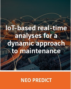 NEO Predict: Iot-bases real-time analyses for a dynamic approach to maintenance
